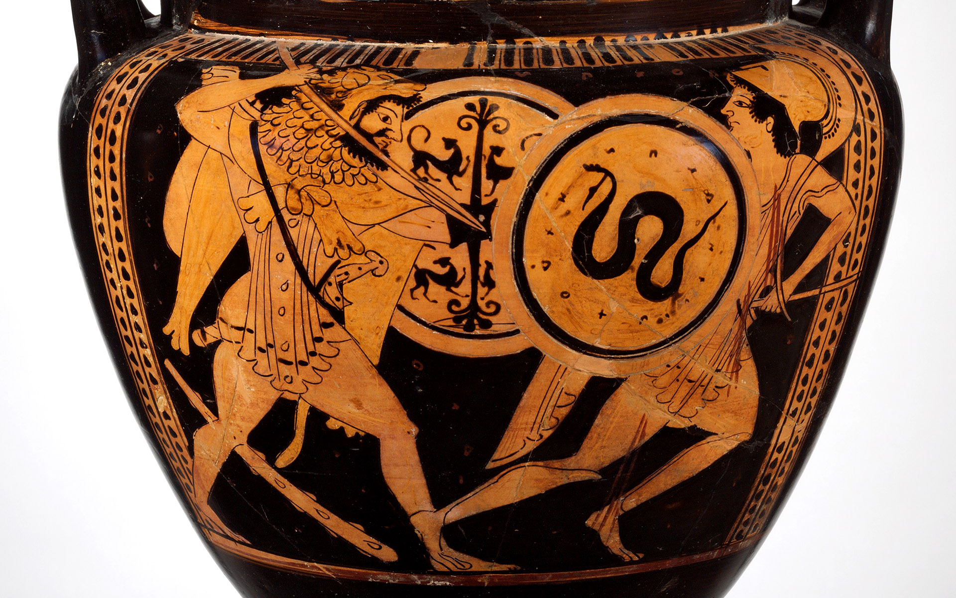 Herakles and Kyknos